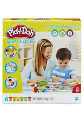 Manualidades Play-Doh Aprendo Letras y Palabras HASBRO B3407