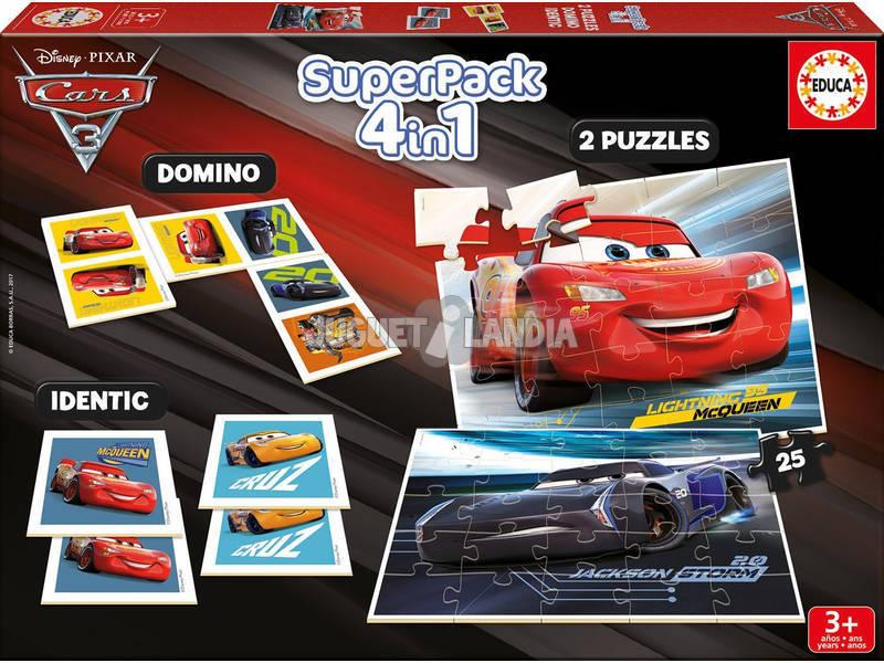Superpack Cars Educa 17199