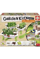 Educa Garden Kid Il mio Orto Fragole-Menta-Basilico
