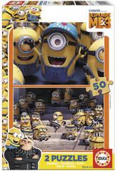 Puzzle 2x50 Minions Despicable Me 3