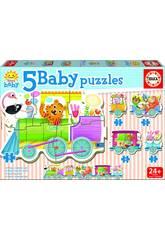 Baby Puzzle Tierzug