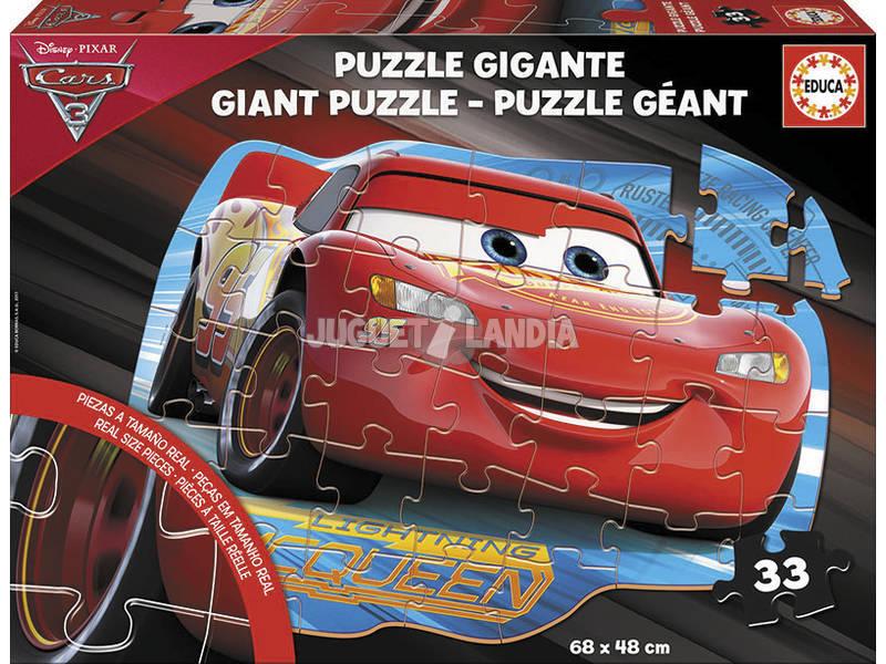 Puzzle Gigante Suelo Cars