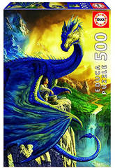 Puzzle 500 Eragon And Saphira Ciruelo