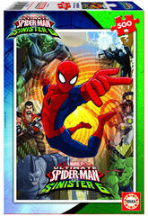 imagen Puzzle 500 Ultimate Spiderman vs The Sinister 6 34x48 cm EDUCA 17155