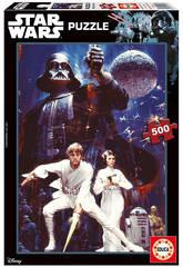 Puzzle 500 Star Wars Episodio IV - 40 Aniversario