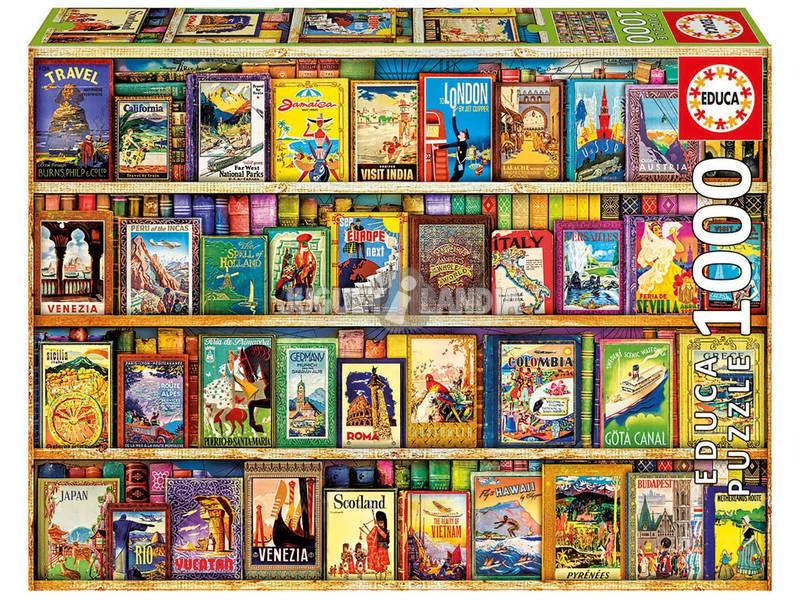 Puzzle 1000 Viajando Por El Mundo