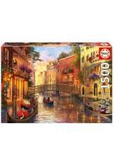 Puzzle 1500 Coucher du Soleil à Venise