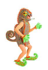 Disfraz Adulto Camaleón Hombre