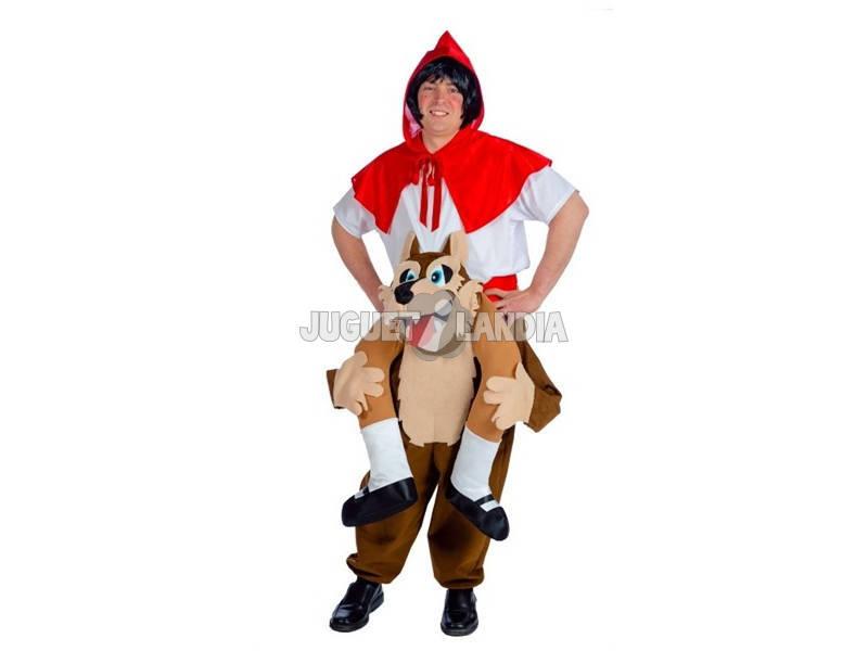 Disfraz Adulto Lobo y Caperucita