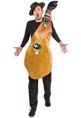 Costume Uomo Coscia Prosciutto Crudo