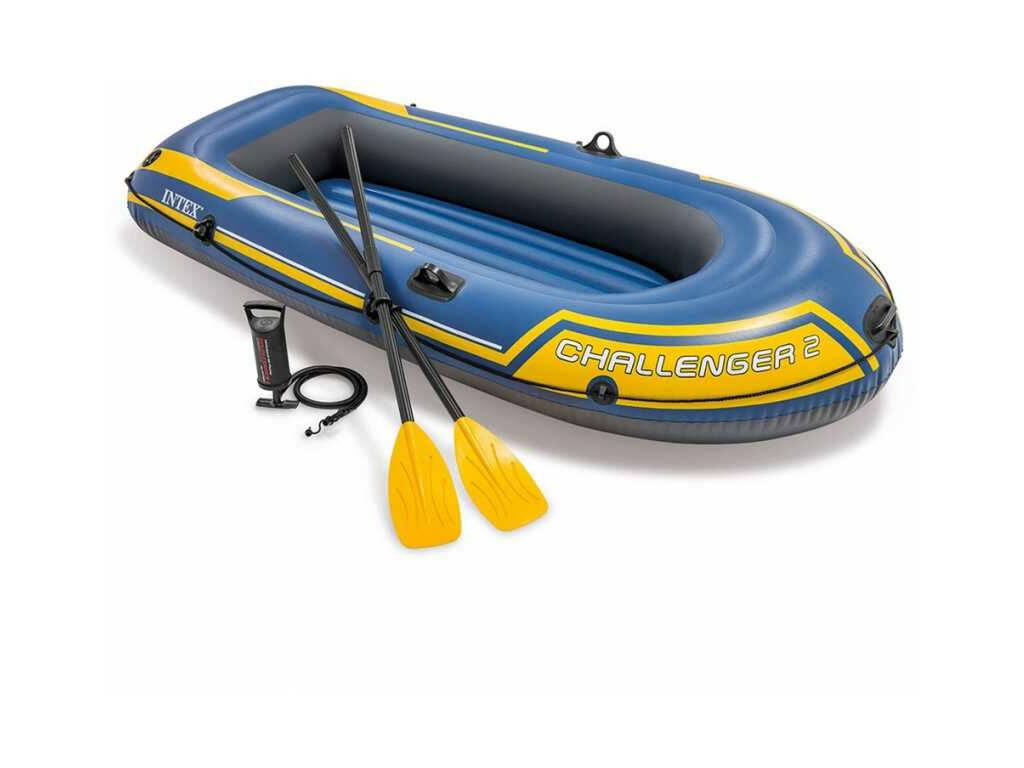 Barca Hinchable Challenger 236x114x41 Cm Intex 68367