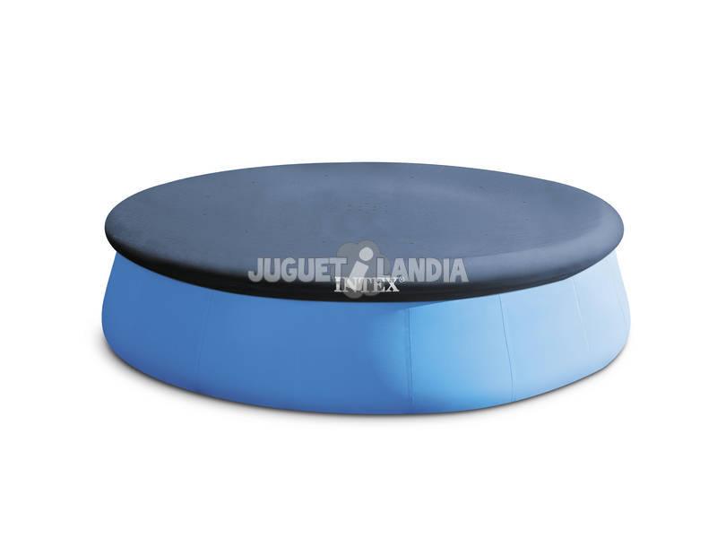 Acheter b che pour piscine 396 cm intex 28026 easy set for Bache piscine easy set