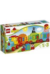 imagen Lego Duplo Tren de los Números 10847
