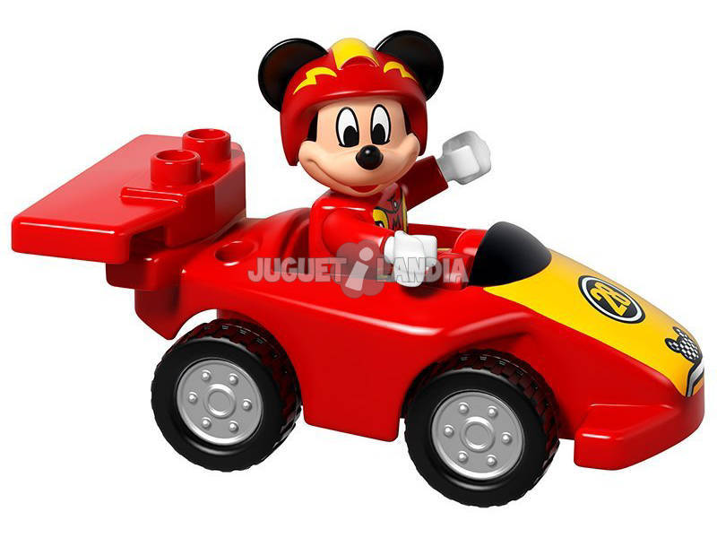 acheter lego duplo la voiture de course de mickey juguetilandia. Black Bedroom Furniture Sets. Home Design Ideas