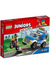 Lego Juniors Le Camion de la Police en Pleine Action