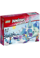 Lego Juniors Zona de Juegos Invernal de Anna y Elsa 10736