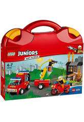 Lego Juniors Maletín de Patrulla de Bomberos