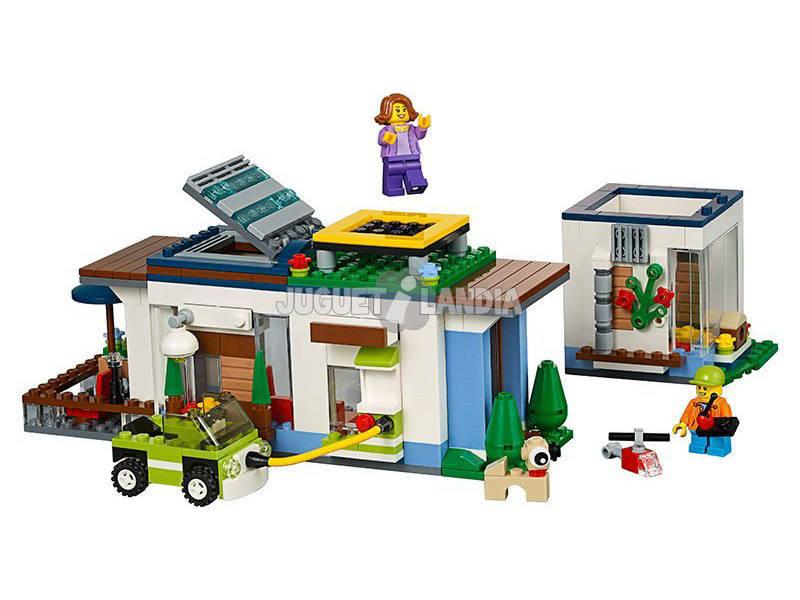 Acheter lego creator maison moderne juguetilandia for Maison moderne lego
