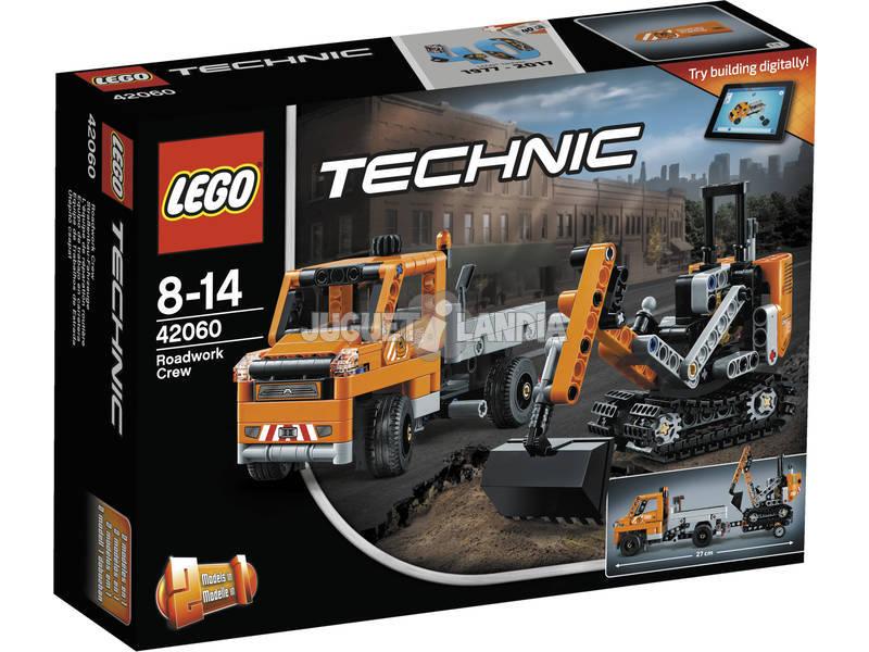 Lego Technic Equipo de Trabajo en Carretera 42060