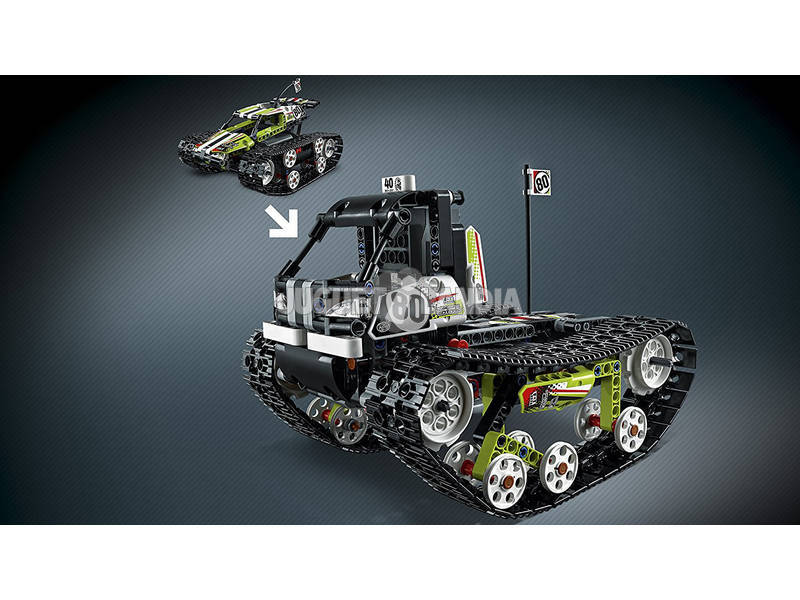 lego technic deportivo todoterreno radio control 42065 juguetilandia. Black Bedroom Furniture Sets. Home Design Ideas