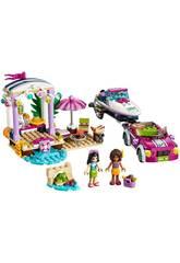 Lego Friends Le Transporteur de Hors-bord d'Andrea