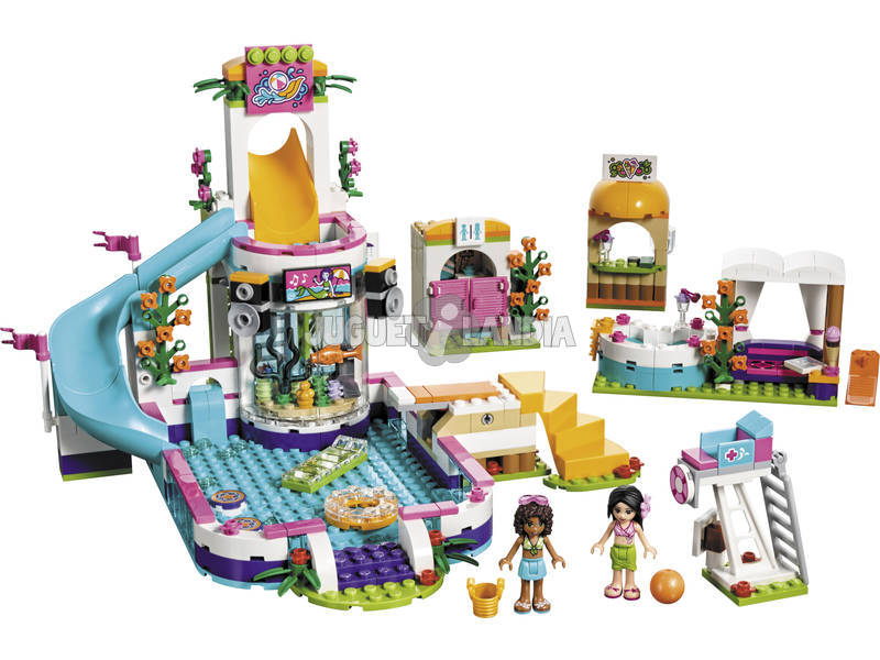 Lego Friends Piscina de Verano de Heartlake 41313