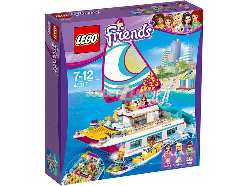 Lego Friends Catamaran