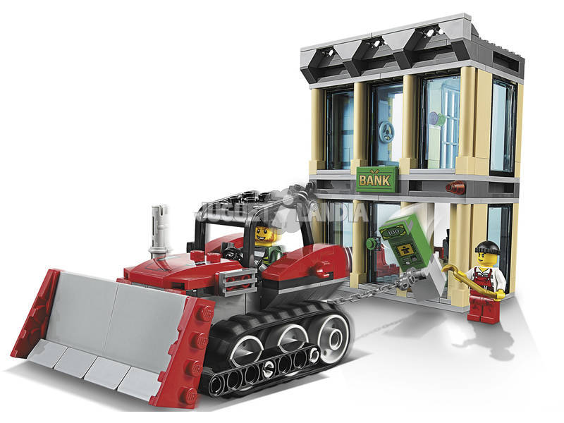 LEGO 60140 Rapina con il bulldozer CITY 5-12 Pz 561