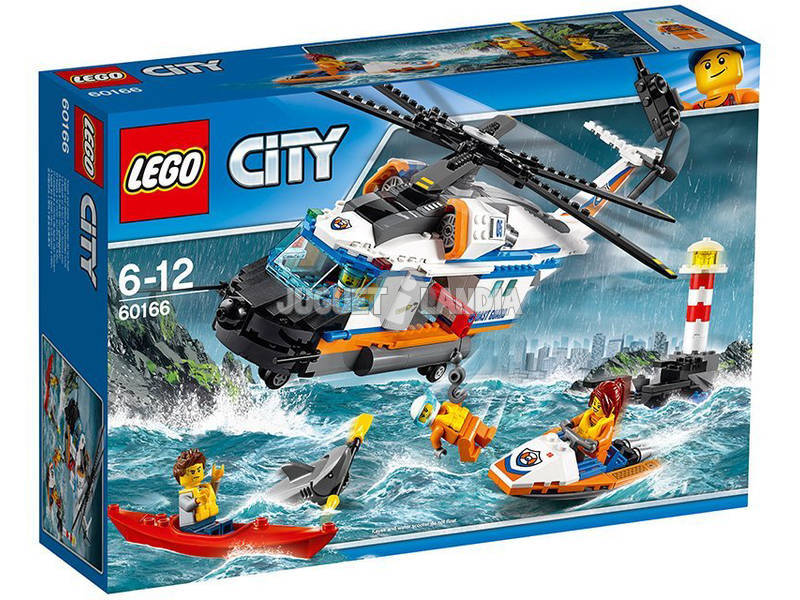 Lego City Helicoptero de Rescate Pesado 60166