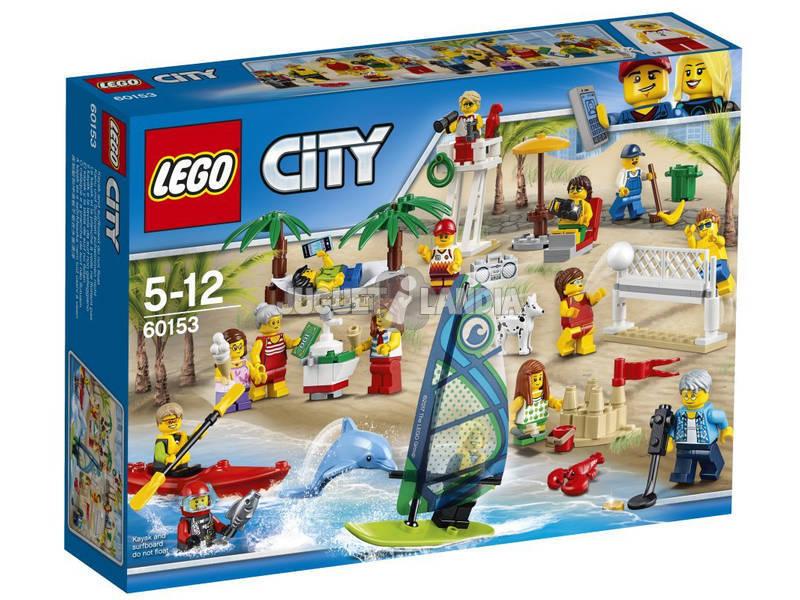 Lego City Pack Figuras Diversión En La Playa