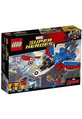 Lego SH Jet del Capitan America