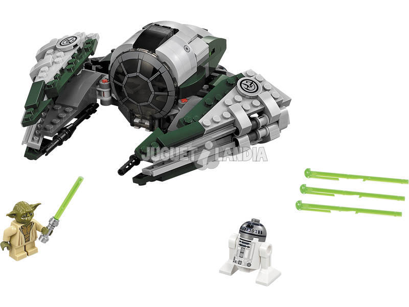 Lego Star Wars Jedi Starfighter de Yoda 75168