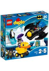 Lego Duplo SH Avventura sul Bat-Aereo