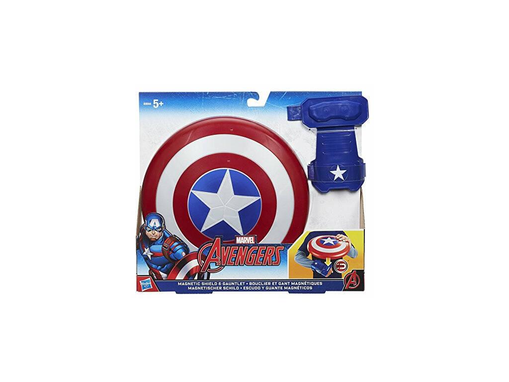 Escudo Magnético Capitán América Avengers 21 cm HASBRO B9944