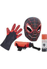 Figurine spiderman Masque et Lanceur de Toiles Hasbro C1989E27