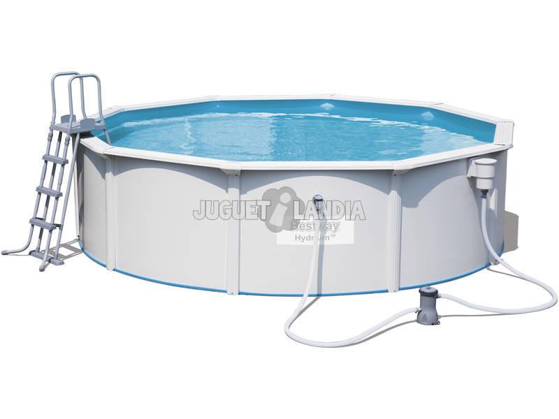 Acheter piscine hydrium 460x120 cm filtre cartuche for Filtre pour piscine bestway