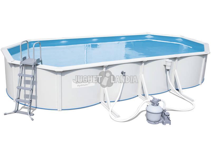 acheter piscine hors sol hydrium 740 x 360 x 120 cm. Black Bedroom Furniture Sets. Home Design Ideas