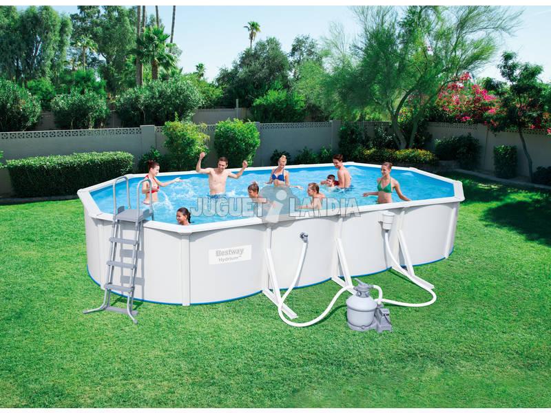 Piscina fuori terra hydrium 740x360x120 cm bestway 56604 for Comprare piscina fuori terra
