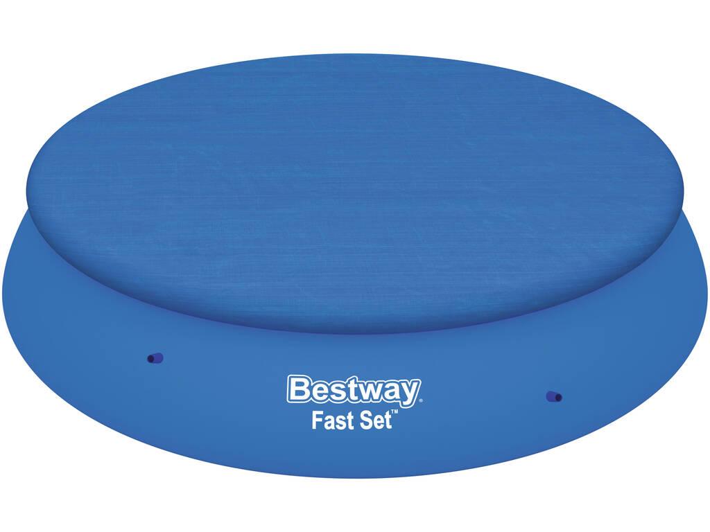Cubierta para piscina de 396 cm bestway 58415 juguetilandia for Cubre piscina bestway