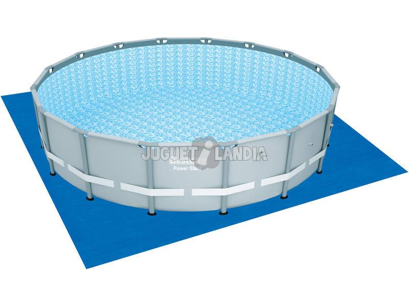 Telo tappetino base per piscine 520x520 cm bestway 58251 juguetilandia - Tappetino per piscina ...