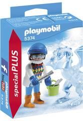 imagen Playmobil Escultora de Hielo 5374