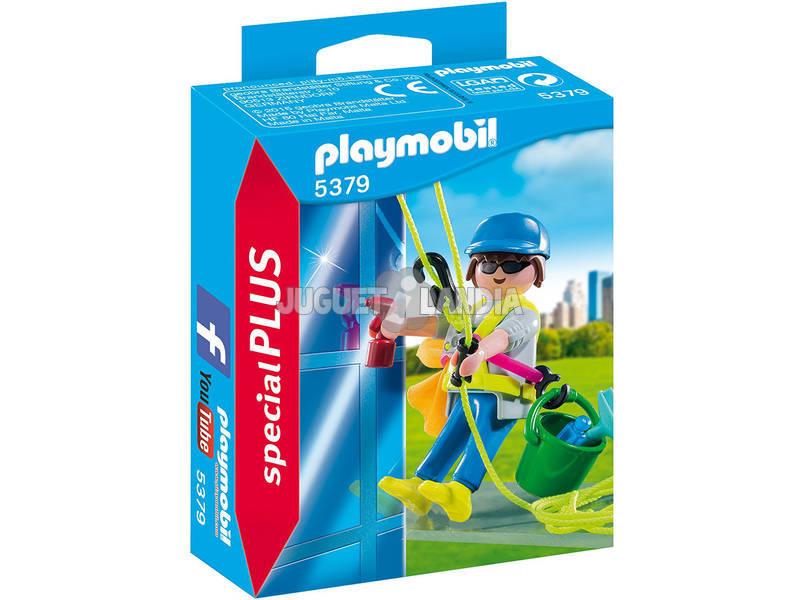 Playmobil Limpiador de Ventana
