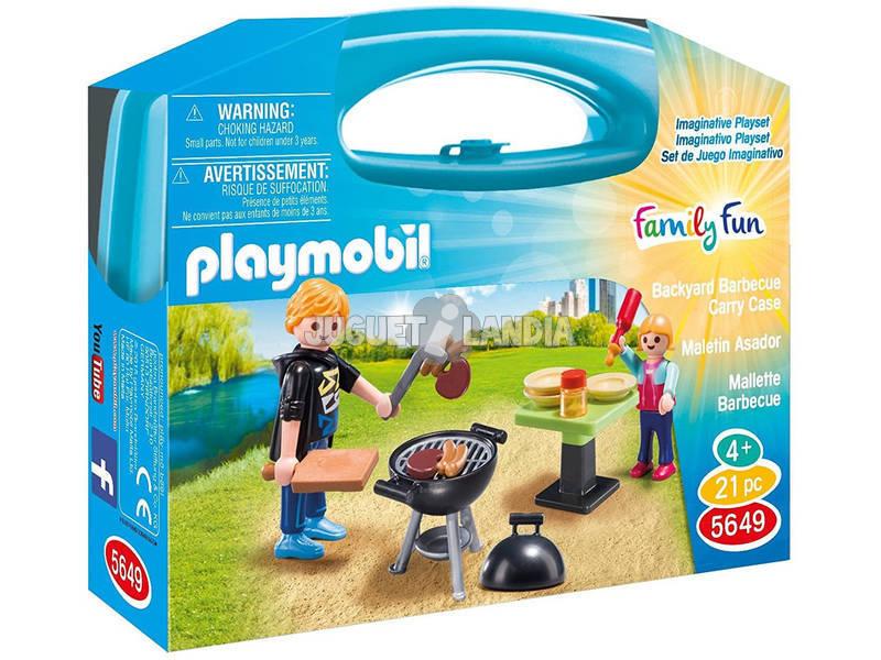 Playmobil Maletín Barbacoa 5649
