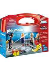 Playmobil Maleta Grande Bombeiros