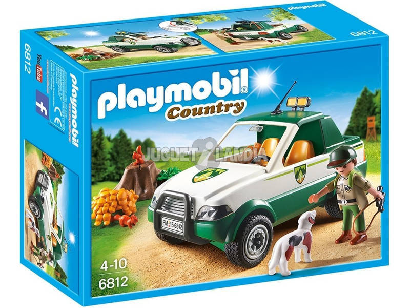 Playmobil Guardabosques con Pick Up 6812