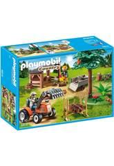 Playmobil Leñador con Tractor 6814