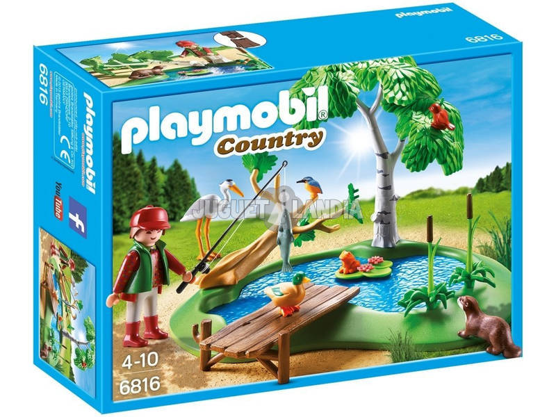 Playmobil Lago con Animales