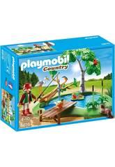 imagen Playmobil Lago con Animales