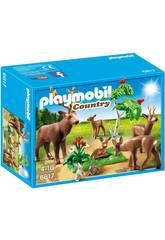 imagen Playmobil Familia de Ciervos
