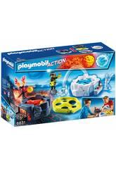 imagen Playmobil Juego Fuego y Hielo 6831